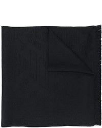 schwarzer Wollschal von Emporio Armani