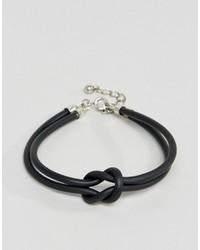 schwarzes Armband von Asos