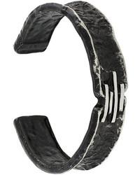 schwarzes Armband von Diesel
