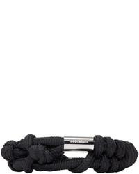 schwarzes Armband von DSQUARED2