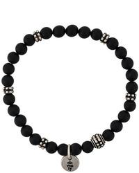 schwarzes Armband von Eleventy