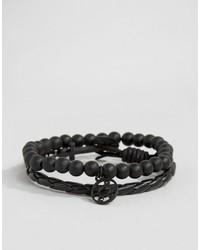 schwarzes Armband von Icon Brand