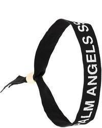 schwarzes Armband von Palm Angels