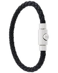 schwarzes Armband von Salvatore Ferragamo