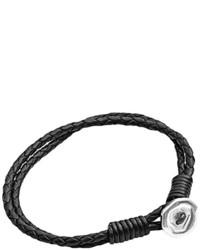 schwarzes Armband von Tribal Steel