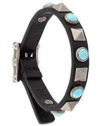 schwarzes Armband von Valentino Garavani