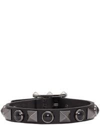 schwarzes Armband von Valentino