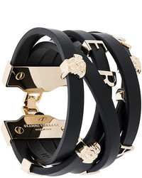 schwarzes Armband von Versace