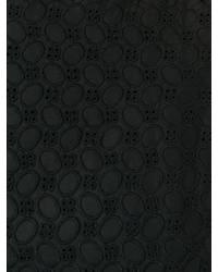 schwarzes ausgestelltes Kleid von P.A.R.O.S.H.