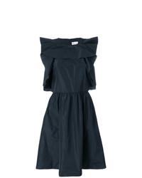schwarzes ausgestelltes Kleid von RED Valentino