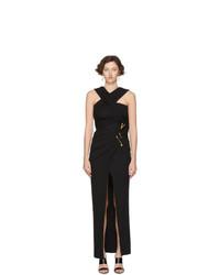 schwarzes Ballkleid von Versace