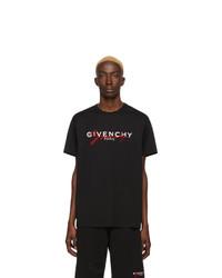 schwarzes besticktes Langarmshirt von Givenchy