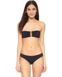 schwarzes Bikinioberteil von Proenza Schouler