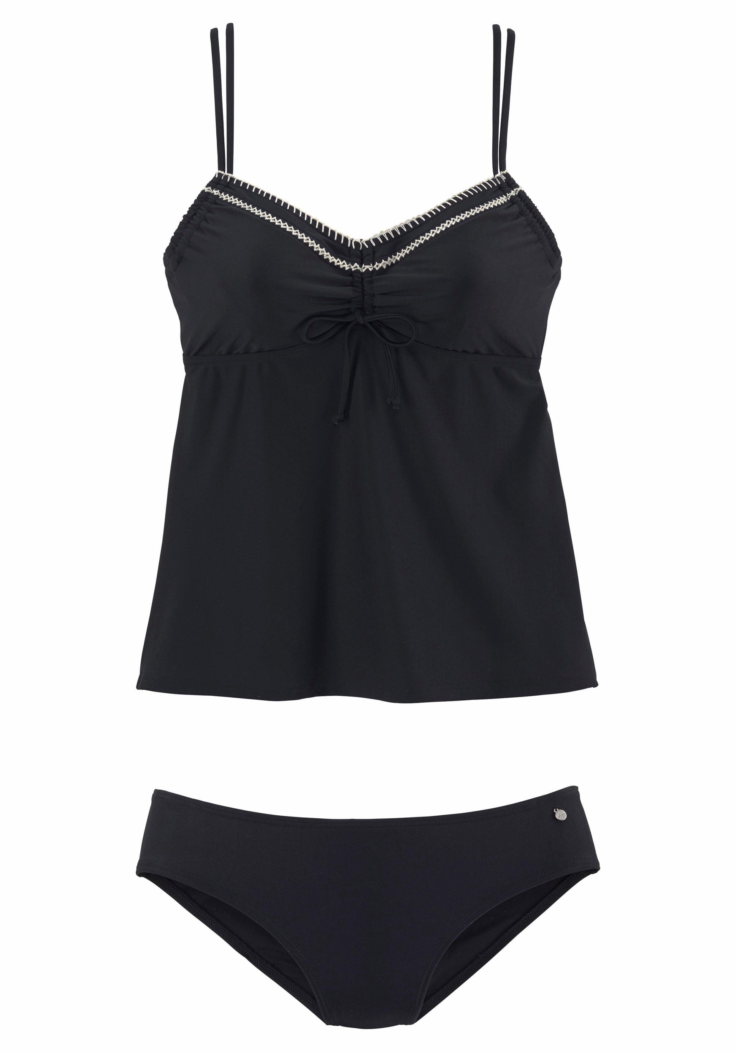 schwarzes Bikinioberteil von s.Oliver RED LABEL Beachwear