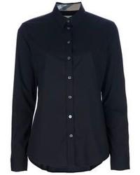 schwarzes Businesshemd von Burberry