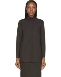 schwarzes Businesshemd von Givenchy