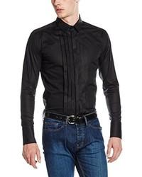schwarzes Businesshemd von Karl Lagerfeld