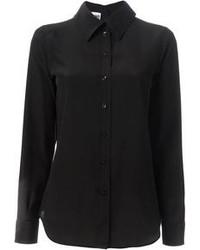 schwarzes Businesshemd von Moschino