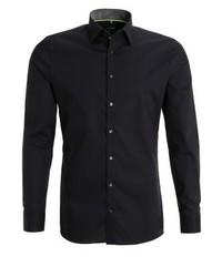 schwarzes Businesshemd von Olymp No. 6