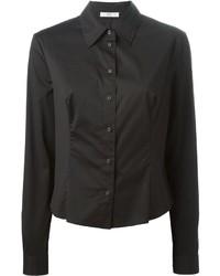 schwarzes Businesshemd von Prada