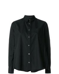 schwarzes Businesshemd von Sacai
