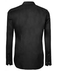 schwarzes Businesshemd von Signum