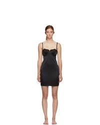 schwarzes Camisole-Kleid aus Spitze von Fleur Du Mal