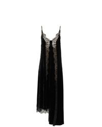schwarzes Camisole-Kleid aus Spitze von Stella McCartney