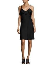 schwarzes Camisole-Kleid