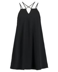 schwarzes Camisole-Kleid von River Island