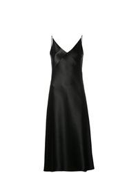 schwarzes Camisole-Kleid von Vince