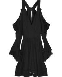 schwarzes Cocktailkleid von Givenchy
