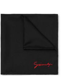 schwarzes Einstecktuch von Givenchy