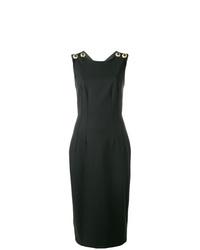 schwarzes Etuikleid von Dolce & Gabbana