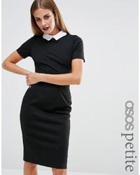 schwarzes figurbetontes Kleid von Asos