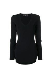 schwarzes figurbetontes Kleid von Dsquared2