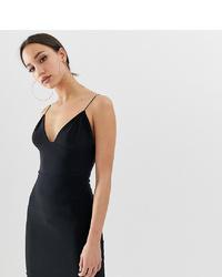 schwarzes figurbetontes Kleid von Fashionkilla Tall