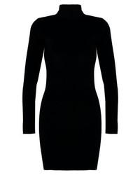 schwarzes figurbetontes Kleid von Glamorous