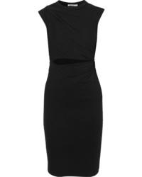 schwarzes figurbetontes Kleid von T by Alexander Wang