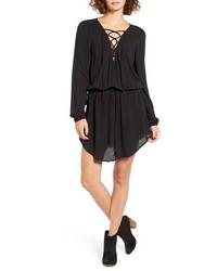 schwarzes Folklore Kleid