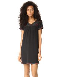 schwarzes Folklore Kleid von Madewell