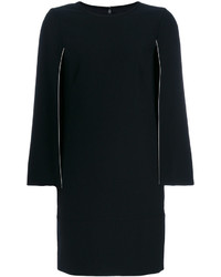schwarzes gerade geschnittenes Kleid von DKNY