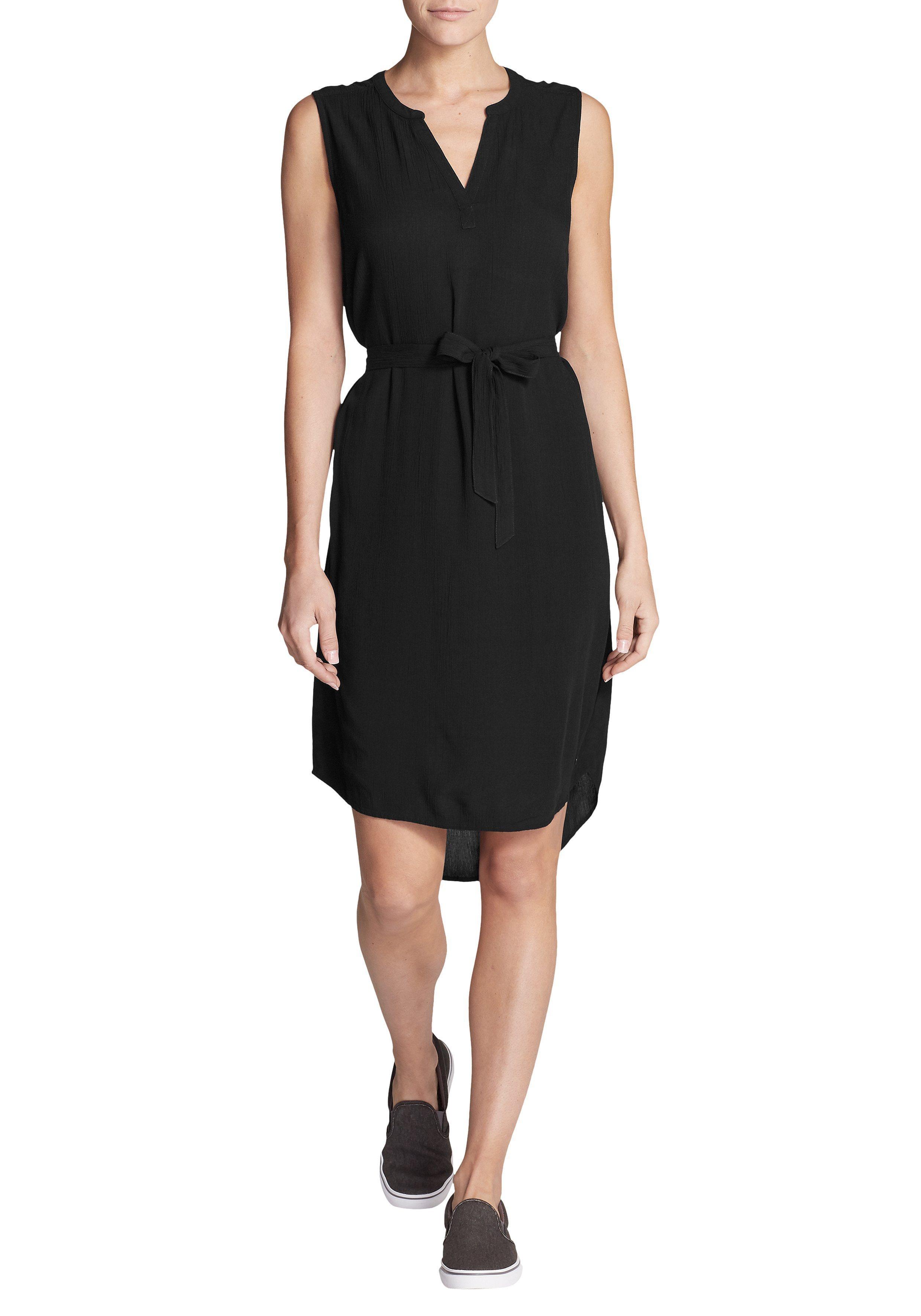 the best attitude 9b0f3 08cc7 €89, schwarzes gerade geschnittenes Kleid von Eddie Bauer