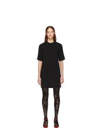 schwarzes gerade geschnittenes Kleid von Gucci