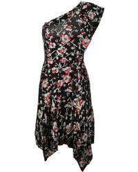 schwarzes gerade geschnittenes Kleid von Isabel Marant