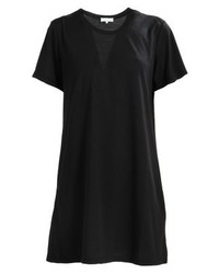 schwarzes gerade geschnittenes Kleid von TWINTIP