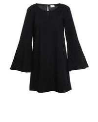 schwarzes gerade geschnittenes Kleid von Vila
