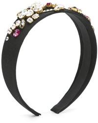 schwarzes Haarband von Dolce & Gabbana