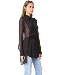 schwarzes Hemd von DKNY
