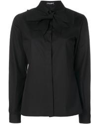 schwarzes Hemd von Dolce & Gabbana